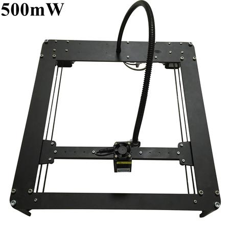 Laseraxe 500mW DIY Hbot Desktop Mini Laser Engraver Engraving Machine Laser Cutter Etcher 25X25cm
