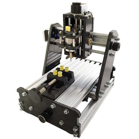 Laseraxe DIY Mini 3 Axis USB Desktop CNC Router Wood PCB Milling Carving Engraving Machine Kit